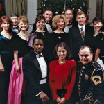 Bob w/ former Vice President Dan & Marilyn Quayle and The United States Army Chorale